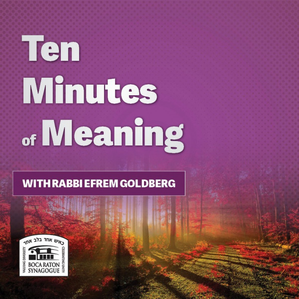 Ten Minutes of Mesillas Yesharim